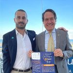 Matteo Buccioli Presidente AMP e Riccardo Bevilacqua Presidente LIONS CLUB FORLI HOST